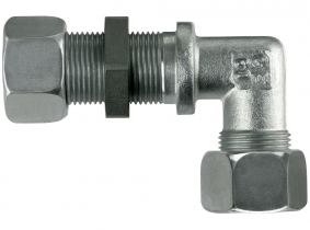 Gewinkelte Schottverschraubung L6-M12x1,5 mit M+S Gewinkelte Schottverschraubung L6-M12x1,5 mit M+S