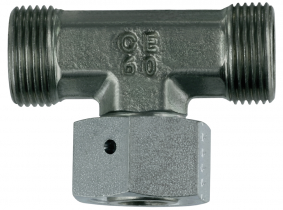 einstellbare T-Verschraubungskörper L6-M12x1,5 einstellbare T-Verschraubungskörper L6-M12x1,5