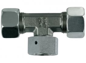 einstellbare T-Verschraubung S16-M24x1,5 mit M+S einstellbare T-Verschraubung S16-M24x1,5 mit M+S