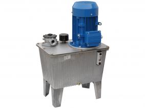 Hydraulikaggregat mit Elektromotor,Spannung 400V, Tank 27L,Leistung 2,2KW, Pumpe 12,2L, geeignet für Holzspalter Hydraulikaggregat mit Elektromotor,Spannung 400V, Tank 27L,Leistung 2,2KW, Pumpe 12,2L, geeignet für Holzspalter