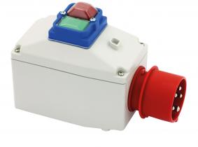 Motorschutzschalter (0,75KW / 1-1,6A) mit Steckergehäuse Motorschutzschalter (0,75KW / 1-1,6A) mit Steckergehäuse