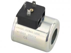 Magnetspule für 4/3-Wegeventil 12V-DC Magnetspule für 4/3-Wegeventil 12V-DC