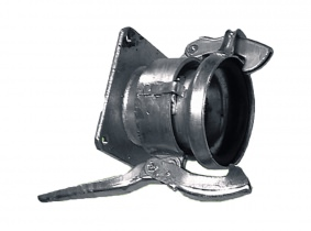 P-Flanschhebelkupplung, 133, Länge 150mm P-Flanschhebelkupplung, 133, Länge 150mm
