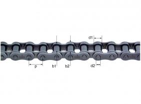 "084 (1/2x3/16"") 12,7x4,88mm DIN8187 1-fach-Rollenkette 084 (1/2x3/16"") 12,7x4,88mm DIN8187 1-fach-Rollenkette"