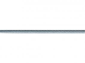 mtr. 3mm auf 4mm Drahtseil Kunststoffummantelt mtr. 3mm auf 4mm Drahtseil Kunststoffummantelt