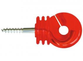 Ringisolator Jumbo rot Acrylglas 25 St. mit durchgehender Stütze Ringisolator Jumbo rot Acrylglas 25 St. mit durchgehender Stütze