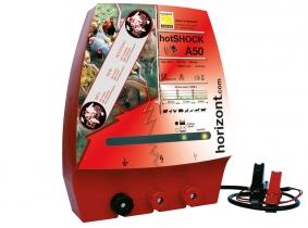 Horizont hotSHOCK A50 GPS (12V-Akkubetrieb) Horizont hotSHOCK A50 GPS (12V-Akkubetrieb)