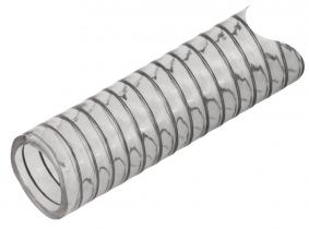 Diesel-Spiral-Saugschlauch  Meterware 3/4'' flexibel, transparent Diesel-Spiral-Saugschlauch  Meterware 3/4'' flexibel, transparent