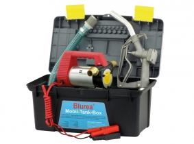 BLUREA MOBIL-TANK-BOX 12 Volt Dieselpumpe mit Zapfpistole BLUREA MOBIL-TANK-BOX 12 Volt Dieselpumpe mit Zapfpistole