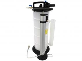 Blurea Vakuum Ölabsaugpumpe mit Handpumpe 9l Altölsammelbehälter Blurea Vakuum Ölabsaugpumpe mit Handpumpe 9l Altölsammelbehälter