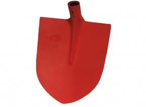 IMPORT Holländer Sandschaufel, rot, Gr.2  oval IMPORT Holländer Sandschaufel, rot, Gr.2  oval