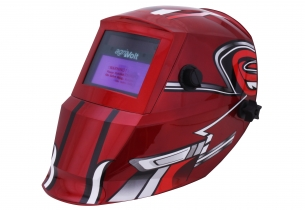 Automatik Schweißschutzhelm Luxe 800S Racing rot Automatik Schweißschutzhelm Luxe 800S Racing rot