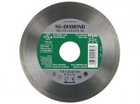 Pferd-Diamant Fliesentrennscheibe DG 115 FL SG geschlossen Pferd-Diamant Fliesentrennscheibe DG 115 FL SG geschlossen