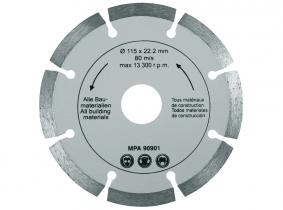 Diamant Trennscheibe (Import-Qualität) 115mm segmentiert Diamant Trennscheibe (Import-Qualität) 115mm segmentiert