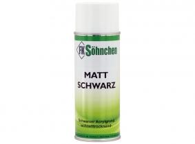 FKS-Matt-Schwarz HL Acryllack schnelltrocknend 400ml Dose FKS-Matt-Schwarz HL Acryllack schnelltrocknend 400ml Dose