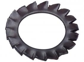 6,4mm DIN 6798 A Fächerscheibe verzinkt 100 Stück 6,4mm DIN 6798 A Fächerscheibe verzinkt 100 Stück