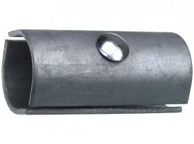 Kupplung, 1 1/2', verzinkt 2-teilig mit Schraube Kupplung, 1 1/2', verzinkt 2-teilig mit Schraube