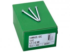 Ankernägel Packung 250 Stück, 4,0x40 Ankernägel Packung 250 Stück, 4,0x40