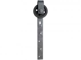 60mm Schiebetürrolle, komplett mit Stahlbügel (Walzenlager) 60mm Schiebetürrolle, komplett mit Stahlbügel (Walzenlager)