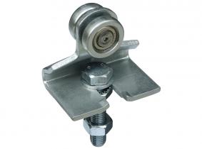 Rollapparat einpaarig (50Kg/St.) für Laufschiene 180Kg Rollapparat einpaarig (50Kg/St.) für Laufschiene 180Kg