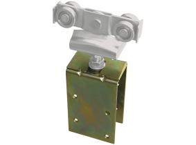 Anschraubverstelllasche f. Rollapparate (180Kg Laufschiene) Anschraubverstelllasche f. Rollapparate (180Kg Laufschiene)