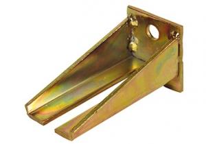Winkelbefestigung für zwei verstellbare Muffen für Laufschiene 180kg/400kg Winkelbefestigung für zwei verstellbare Muffen für Laufschiene 180kg/400kg