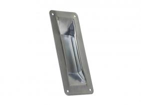 Muschelgriff verzinkt 200x90mm für Schiebetor Muschelgriff verzinkt 200x90mm für Schiebetor