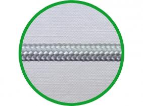 mtr. 4mm PA-Seil, geflochten DIN 83330, weiß mtr. 4mm PA-Seil, geflochten DIN 83330, weiß
