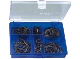 DIN 472I-Innensicherungsringe Sortiment im Kunststoffkasten, 100-tlg. DIN 472I-Innensicherungsringe Sortiment im Kunststoffkasten, 100-tlg.
