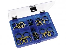 Usit-Ringe 44-teilig Sortiment im Kunststoffkasten Usit-Ringe 44-teilig Sortiment im Kunststoffkasten