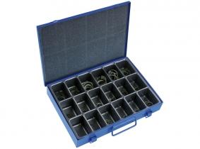 DIN 472I-Innensicherungsringe Sortiment im Metallkasten, 180-tlg. DIN 472I-Innensicherungsringe Sortiment im Metallkasten, 180-tlg.