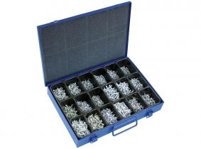 Blechschrauben Sortiment im Metallkasten 1.800-tlg. Blechschrauben Sortiment im Metallkasten 1.800-tlg.