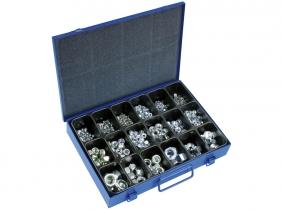 Muttern/S-Muttern Sortiment im Metallkasten, 710-tlg. Muttern/S-Muttern Sortiment im Metallkasten, 710-tlg.