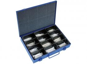 DIN 94 Splinte verzinkt Sortiment im Metallkasten DIN 94 Splinte verzinkt Sortiment im Metallkasten