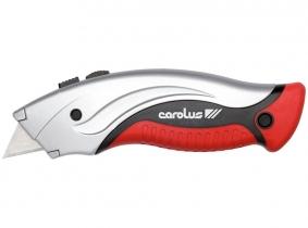 CAROLUS Profi-Cuttermesser mit 4 Ersatzklingen CAROLUS Profi-Cuttermesser mit 4 Ersatzklingen