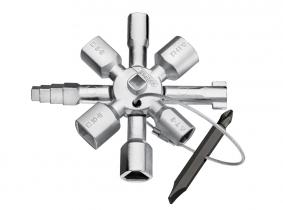 KNIPEX TwinKey®  für gängige Schränke und Absperrsysteme KNIPEX TwinKey®  für gängige Schränke und Absperrsysteme