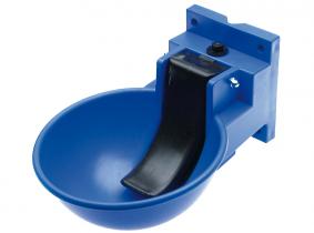 """Tränkebecken Kunststoff blau (1/2""""/ 4-loch) Tränkebecken Kunststoff blau (1/2""""/ 4-loch)"""