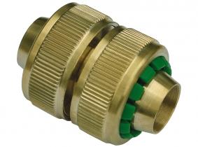 """Messing Schlauchverbinder (passend zu Klicksystem) für 1/2"""" Messing Schlauchverbinder (passend zu Klicksystem) für 1/2"""""""