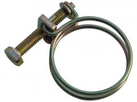 Drahtschlauchschelle verzinkt (Spannbereich 10,5-12mm) Drahtschlauchschelle verzinkt (Spannbereich 10,5-12mm)