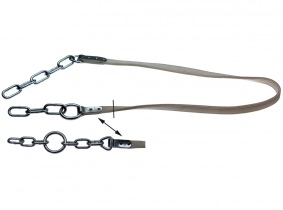 Rinderanbindung doppelt genäht, Ring Mitte, 190cm (Alfa) Rinderanbindung doppelt genäht, Ring Mitte, 190cm (Alfa)