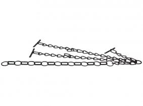 Kuhkette doppelt, 5mm, mit Flachgliedern  65-100cm Kuhkette doppelt, 5mm, mit Flachgliedern  65-100cm