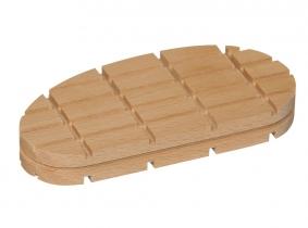 Holzklotz flache Ausführung normale Größe 112mm 1 Stück Holzklotz flache Ausführung normale Größe 112mm 1 Stück