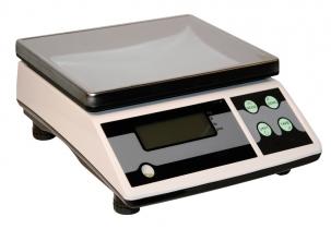 Tischwaage bis 30 kg digital 218x260mm, Anzeige umschaltbar Tischwaage bis 30 kg digital 218x260mm, Anzeige umschaltbar