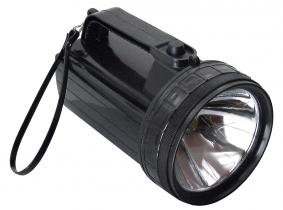 Taschenlampe schwarz Handscheinwerfer schwarz