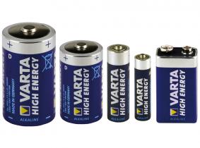 VARTA High-Energy Alkaline Batterien LR03 AAA-Micro VARTA High-Energy Alkaline Batterien LR03 AAA Micro