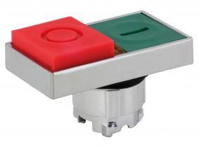 Motorschalter Einsatz (2 Taster) rot grün TB4 BW83 Motorschalter Einsatz (2 Taster) rot grün TB4 BW83
