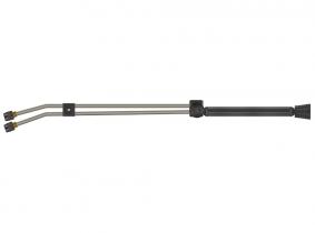 Doppel-Strahlrohr 980mm M22-IG-HV (K) drehbar verzinkt Doppel-Strahlrohr 980mm M22-IG-HV (K) drehbar verzinkt