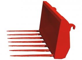 Industriefrontladergabel mit 7 Zinken (1200mm breit) Industriefrontladergabel mit 7 Zinken (1200mm breit)