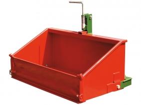 Heckcontainer 2000x1000x800x500mm (BxTxHxBracke) Heckcontainer 2000x1000x800x500mm (BxTxHxBracke)