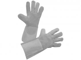 Schweißer-Rindspaltleder-Handschuh Weldex Gr. 10 (XL) Schweißer-Rindspaltleder-Handschuh Weldex Gr. 10 (XL)